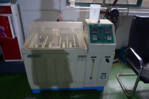 Salt spray machine