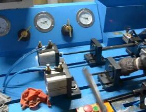Gas Spring Filling Machine