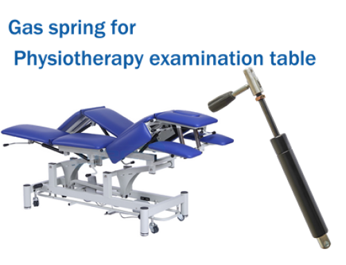Gas spring for Physiotherapy examination table